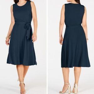 🆕️ Charter Club Sleeveless Stretch Midi Dress